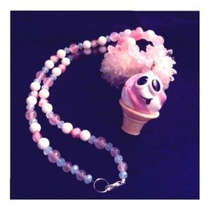 Adorable Ice Cream Necklace